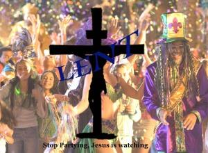 Lent: Jesus is watching